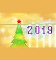gold color merry christmas vintage background vector image vector image
