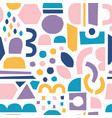 paper cut pieces trendy abstract cutouts vector image vector image