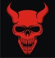 Red Devil Skulls vector image vector image
