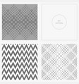 set-pattern-gray-angle vector image