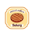 Sticker Sweet Cakes vector image vector image