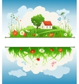Summer day vector image vector image