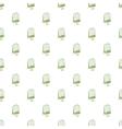 Teabag pattern cartoon style vector image vector image