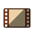 video player symbol vector image vector image