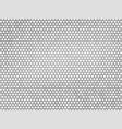 abstract gray metal hexagon texture vector image vector image