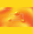dynamic textured orange background vector image vector image