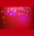 festive red and bright vector image