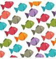 fish seafood menu icon vector image vector image