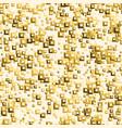 golden sequins seamless pattern vector image vector image