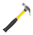 hammer icon on the white background vector image