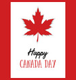 Happy canada day poster 1st july