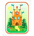 Picture of castle vector image