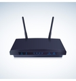 Realisti Wireless Router vector image