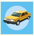 Taxi auto car design vector image vector image
