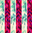 vintage stripe seamless pattern vector image vector image