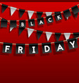 background sale with black and red vector image