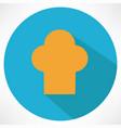 chief cook symbol toque vector image vector image