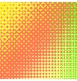 Colorful Halftone Texture vector image vector image