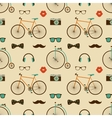Hipster Colorful Seamless Pattern vector image vector image