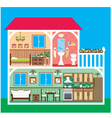 House in a cut vector | Price: 3 Credits (USD $3)