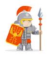 legionare warrior roman praetorian guard fantasy vector image vector image