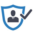 protection insurance safety security icon vector image vector image