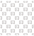 Safe pattern seamless vector image