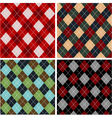 Set of plaid patterns - cottons