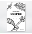 Coffee Packaging Design vector image vector image