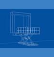 dock leveler concept vector image