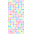 et of universal icons for web and mobile vector image vector image
