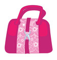 fashion handbag icon hand bag icon isolated vector image vector image