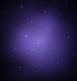 Night sky with stars vector image vector image