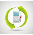 renewable gas isolated icon design vector image vector image