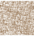 brown seamless texture of cement vector image vector image