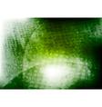 green wavy grunge design vector image vector image