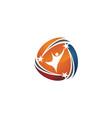 success business logo design template vector image