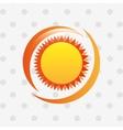 summer vacations icon design vector image vector image