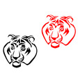 Tiger mascots vector | Price: 1 Credit (USD $1)