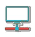 computer host technology vector image