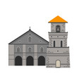 baclayon church vector image