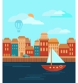 City by the Sea vector image vector image