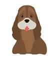Dog design vector image vector image