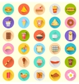 Fast Food Icon vector image