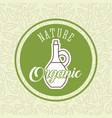 food organic nature vector image