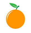 garden orangre icon vector image vector image