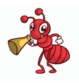 Red Ant T-shirt design art vector image vector image