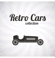 Retro sport racing car vintage collection vector image vector image
