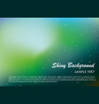 shiny background with blue and green color vector image vector image