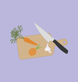 Vegetable Food Cooking vector image